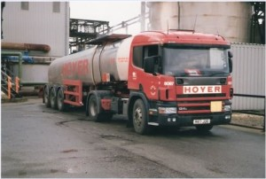 delivering sulpur at amlwch