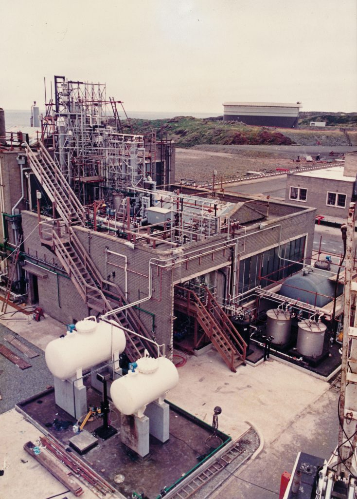 DBM plant 1987