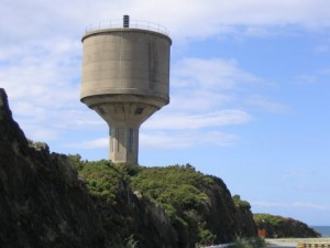 OCTEL water tower