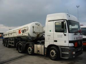Chlorine Tanker