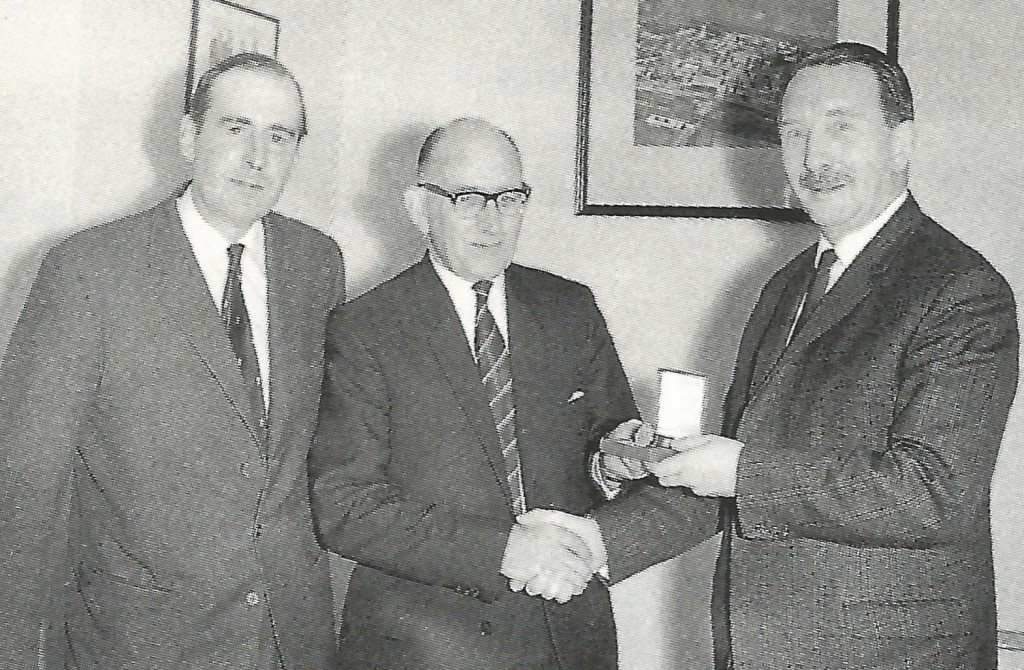 AlecBeech1968 with Cliff Rees and JohnKennerly