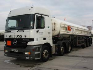 Chlorine tanker : Amlwch history