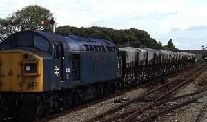 sulphur train to Octel Amlwch