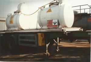 7.5 tonne Bromine Pots