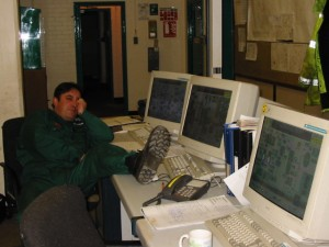 Phil in control room