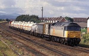 Chlorine train